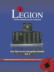 War Time Service Recognition Booklet Volume Nine
